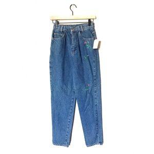 NWT VINTAGE Michael G. High Waist Mom Jeans